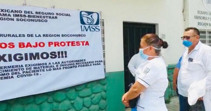 Unidades médicas rurales del IMSS sin lo básico para atender pandemia: trabajadores 6b0d6438 5b02 47b3 b4c4 38395a4aec53