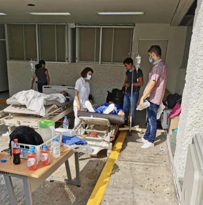 Dos clínicas Covid 19 al tope de enfermos en Comitán y Tapachula 3332D68D 8DA7 46AD 88A6 75BE1E8DC36F