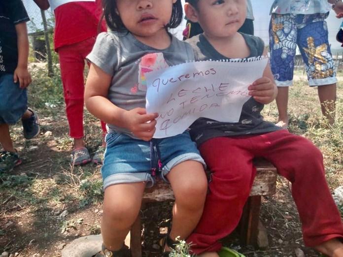 Niños piden ayuda en Berriozábal ceadf592 35dd 4e62 971e 5b0fc280da8a