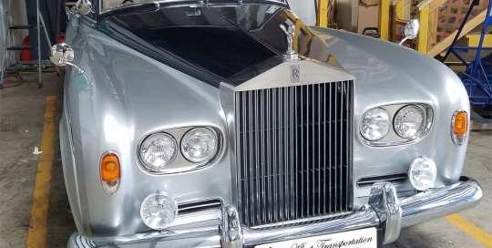 1963 Rolls Royce, Alfred