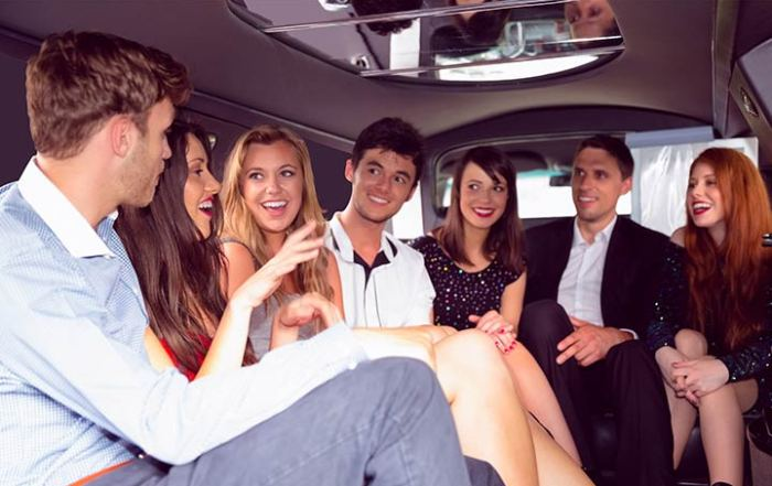 The perfect holiday gift limo or party bus