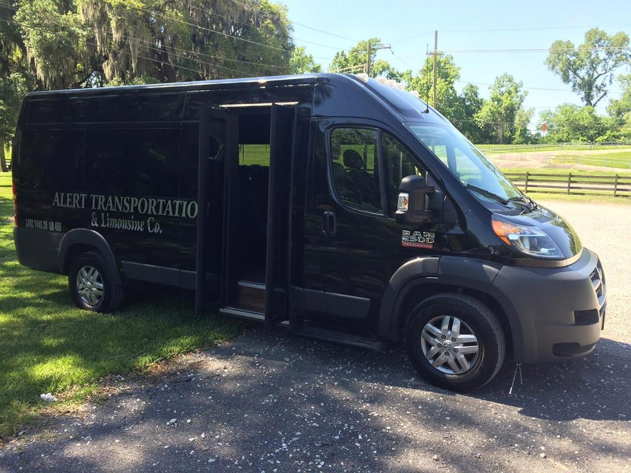 Black Ram Executive Van Alert Transportation Of New Orleans