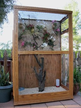 Aviaries built by hand