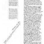 Alésia Cosmos - extraits de presse - 1983