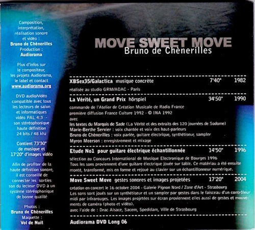 Move Sweet Move dvd