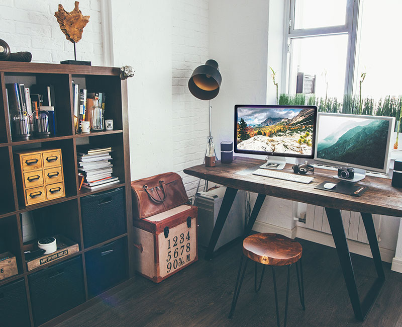 importance of a workspace clean organized tips freelance inspiration ideas