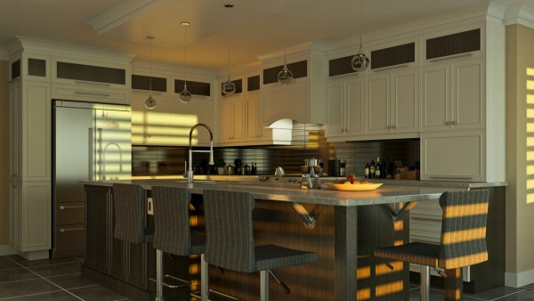 vray-interior-3d-scene-sunset