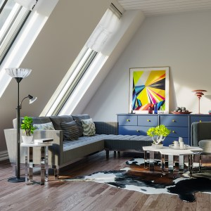 Living Room Vray & Corona 3d scene interior download corona renderer 1