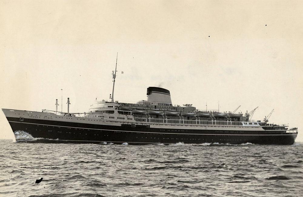 Titanic e Andrea Doria: quelle due fatali virate a sinistra