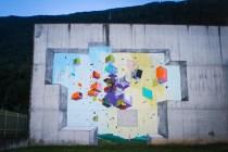 Etnik - Murales esterno Ex-carcere Tirano Photo by Livio Ninni Photographer