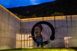 SeaCreative - muro esterno ex carcere Tirano Photo by Livio Ninni Photographer