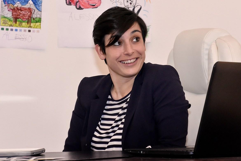 Federica Floris, amministratore unico e co-founder di ALOS