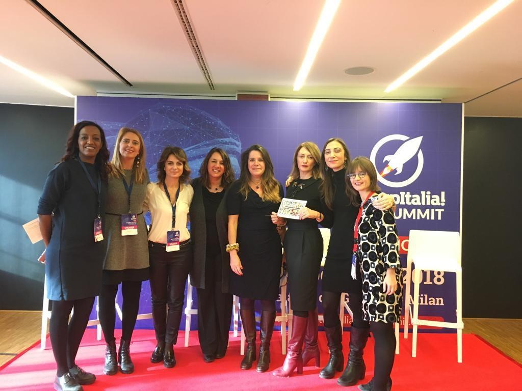 Unstoppable Women al Summit di StartupItalia 17/12/2018