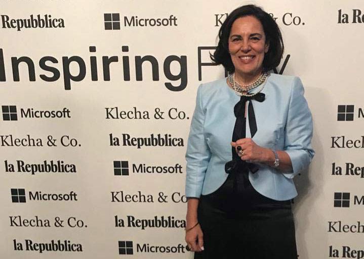 Stefania Mancini, co-founder I-Tel e Inspiring 50