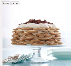 Martha icebox cake