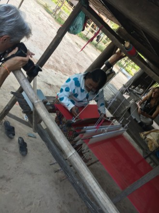 Artisti della seta - Cambogia
