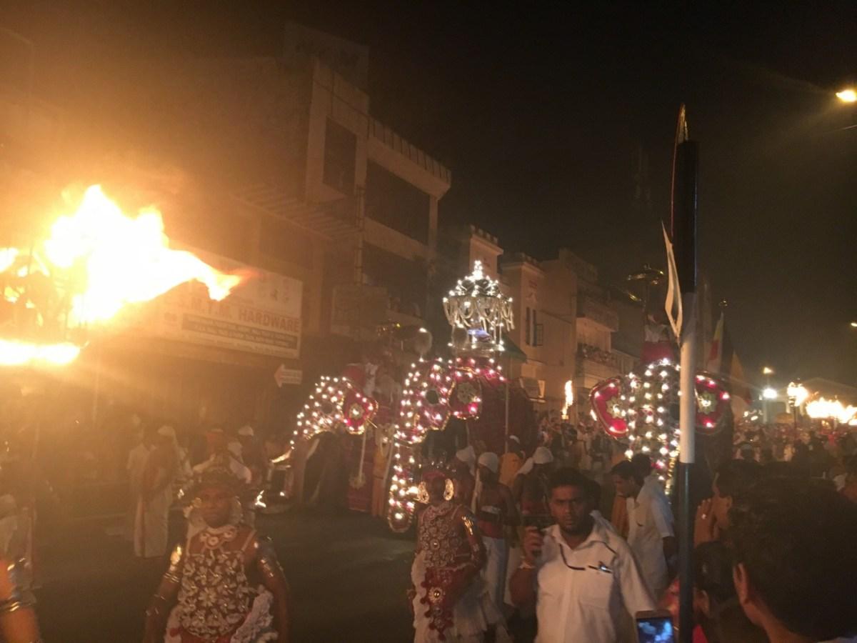 Il festival di Kandy