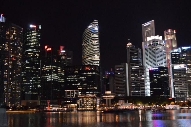 Grattacieli e riflessi - Singapore
