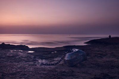 Mediterráneo - Torrevieja - Fotografía larga exposición - Amanecer