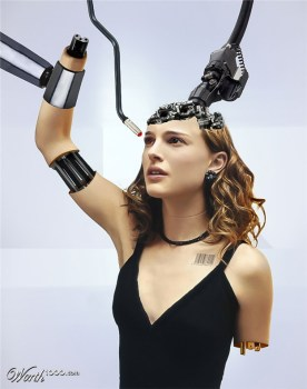 Cyborg Natalie Portman