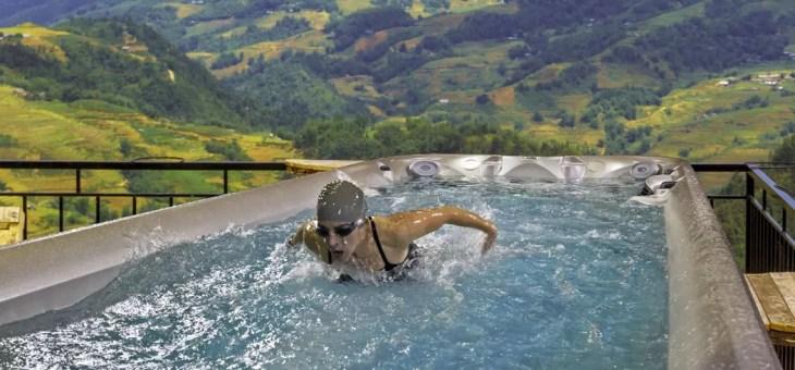 Jacuzzi porta la piscina olimpionica a casa tua