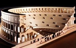 Plastico raffigurante L'Anfiteatro Flavio