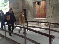 Angela Merkel's visit in Italy