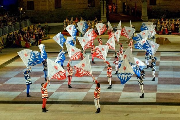 Esibizione a Marostica