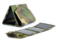 Pannello Solare Portatile 10Watt Waterproof 10 Adattatori USB 3