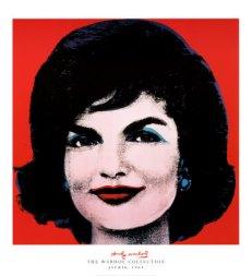 Jackie Kennedy Andy Warhol Print