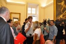 Sala conferenze Stampa Teatro San Carlo di Napoli