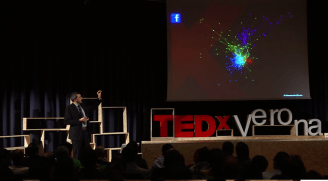 TEDx Verona Social Network Analysis Zonin Facebook Twitter