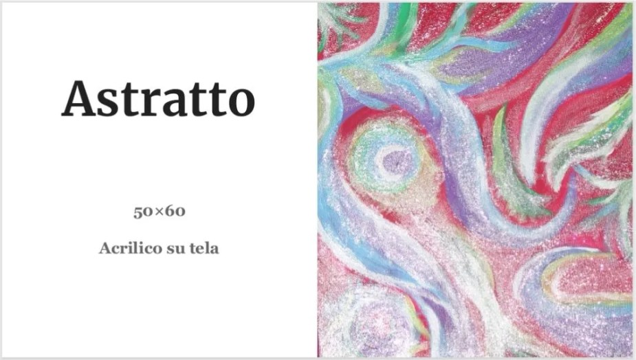 Quadri Alessia Mereu - Astratto
