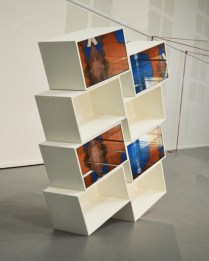 """""""Tower"""", wood, painting, mirrors, 2017"""