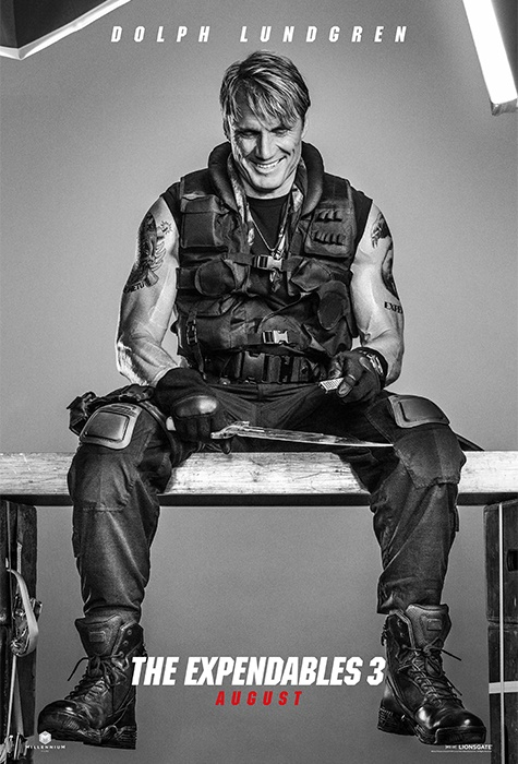 Dolph Lundgren expendables 3 poster