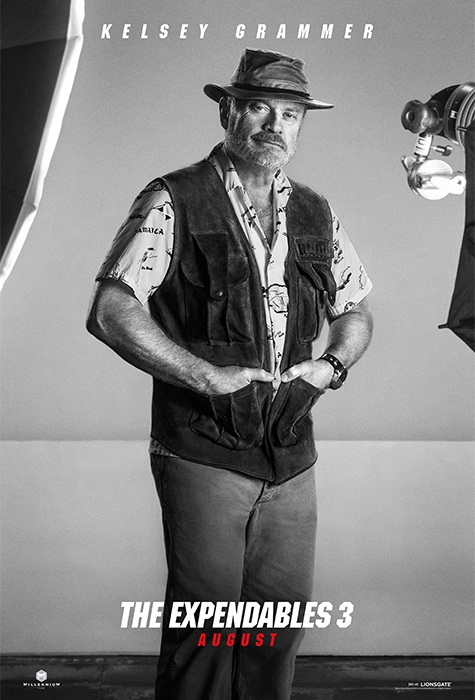 Kelsey Grammer expendables 3 poster