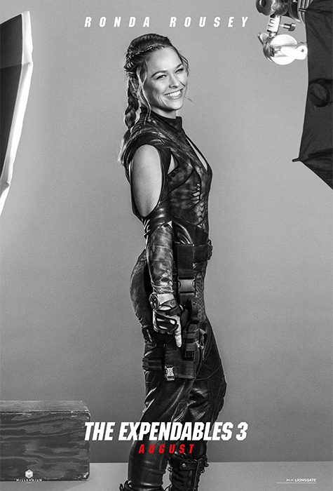 Ronda Rousey expendables 3 poster
