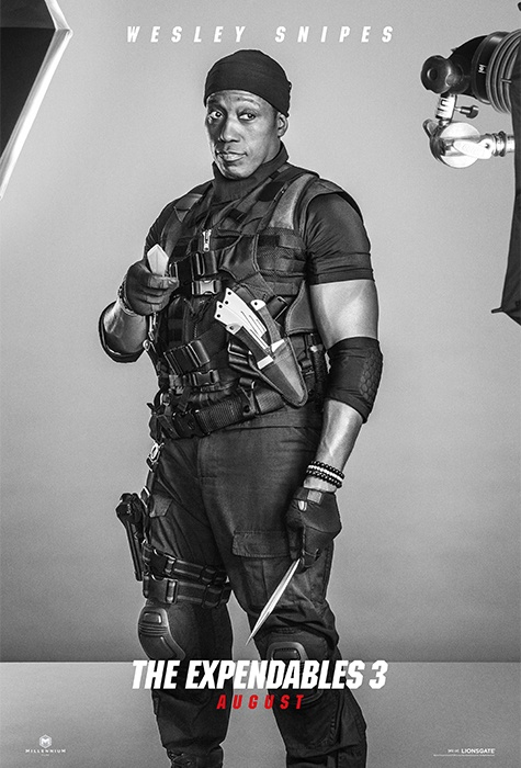 Wesley Snipes expendables 3 poster