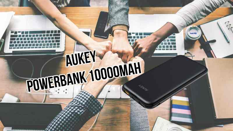 AUKEY USB C Power Bank 10000mAh