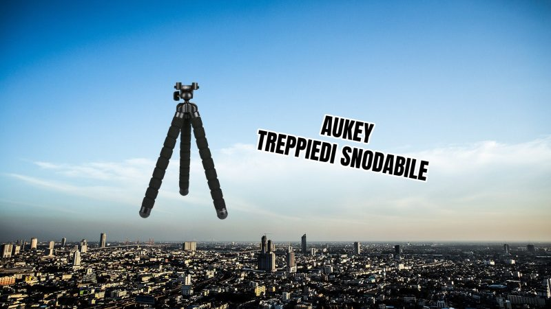 AUKEY Treppiedi Snodabile