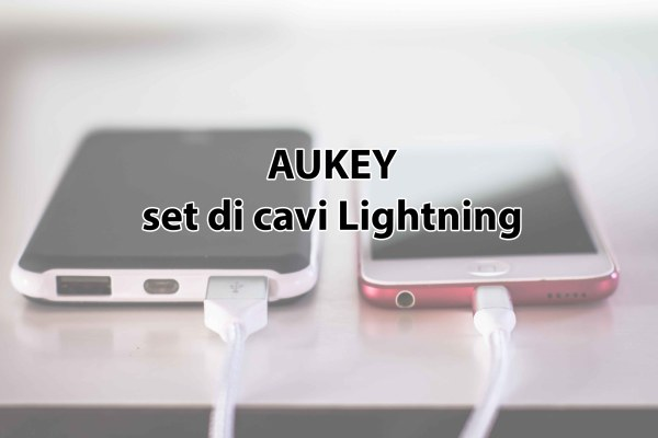 AUKEY set di cavi Lightning
