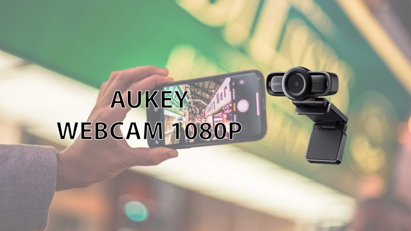 AUKEY WebCam 1080P FullHD