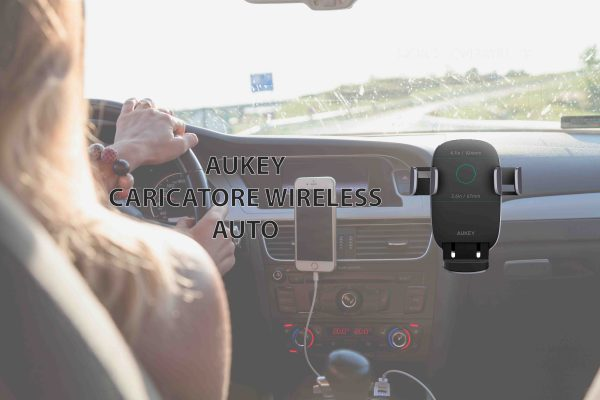 AUKEY Caricatore Wireless per Auto