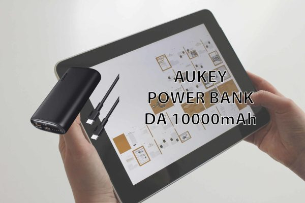 AUKEY Power Bank Portatile da 10000mAh