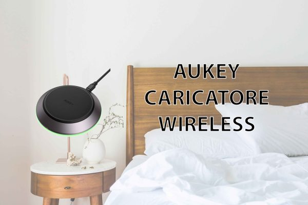 AUKEY Caricatore Wireless da 15W Qi