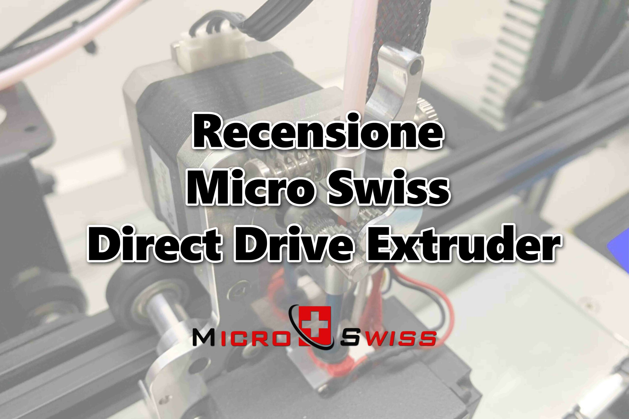 Recensione Micro Swiss Direct Drive Extruder per Creality CR10 e Ender 3