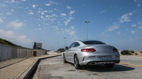 Mercedes-Benz C-Class Coupe Launch