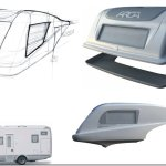 Paoletti automotive vehicle concept design hand sketching arca camper roma bachelor final project monocoque process and product innovation recreational vehicle rendering 3dmodel