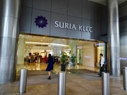Eingang Shopping Mall Suria KLCC