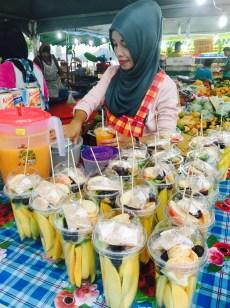 Fruit Streetfood Market Kuah Langkawi
